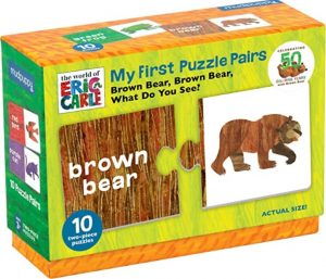 Brown Bear What Do You See My First Puzzle Pairs by Eric Carle