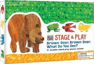 Brown Bear What Do You See, Stage and Play by Eric Carle