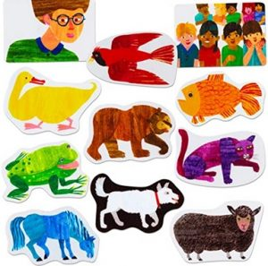 Brown Bear What Do You See, Storytelling Pieces by Eric Carle