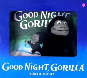 Good Night, Gorilla by Peggy Rathmann, book and plush package