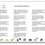London Bridge is Falling Down song lyrics