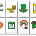 Saint Patrick's Day Vocabulary Pictures