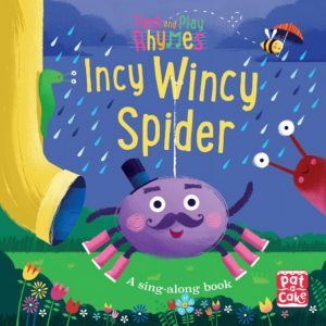 Incy Wincy Spider, a sing along book by Pat a Cake and Richard Merritt