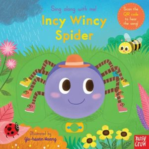 Incy Wincy Spider, a song illustrated by Yu Hsuan Huang