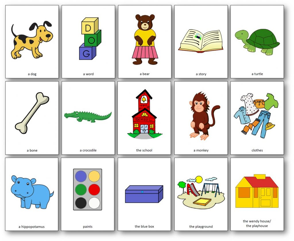 Cards Spot Goes to School - Free pictures download, Spot Goes to school printable