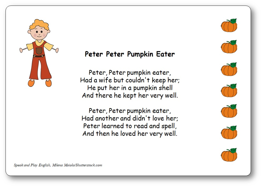 peter peter pumpkin eater rhyme download, Peter Peter Pumpkin Eater - Nursery Rhyme