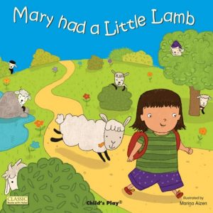 Mary Had a Little Lamb illustrated by Marina Aizen