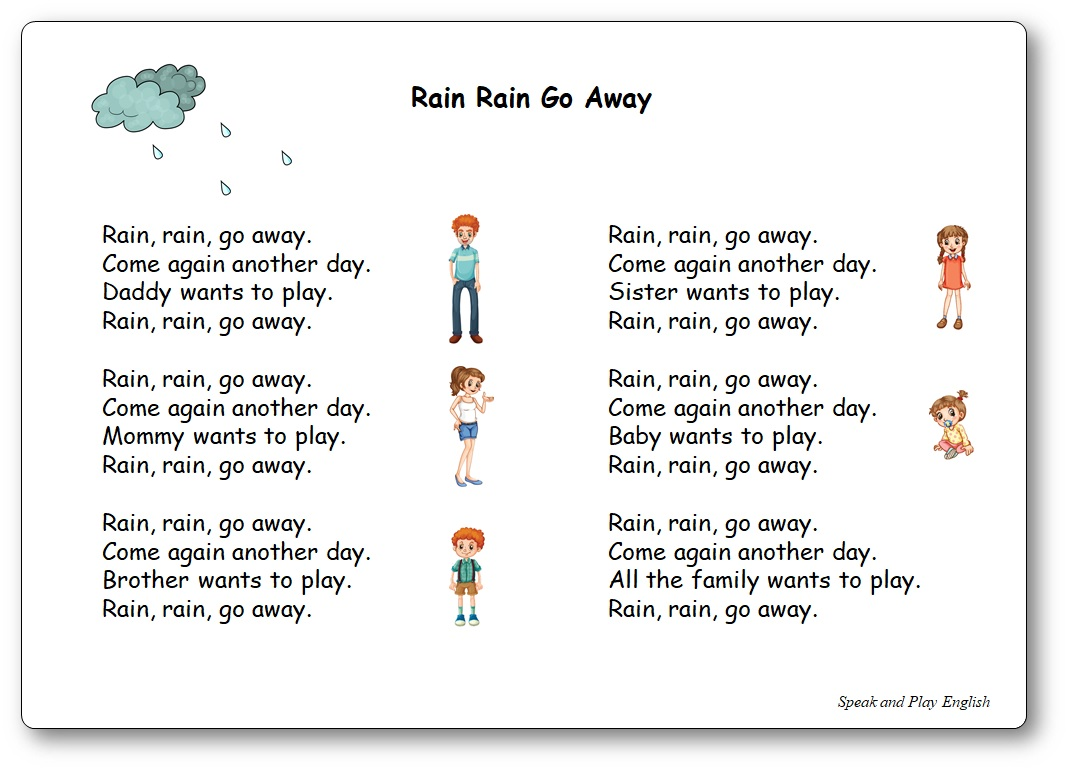 Rain  Rain  Go Away   Super Simple Songs   YouTube together with Rain Rain Go Away   Super Simple Songs besides  likewise Go Away  Rain   Word Family  ain   Word Family Poetry Page moreover B Spider Worksheet Free Printable Worksheets Made By The Rain Came moreover  also Rain Rain Go Away Worksheets   Teaching Resources   TpT also good way to do number order Rain  Rain Go Away  We're Counting to 20 furthermore Free Pre K Dolch Sight Words Worksheets Set 1   Little Dots together with Rhymes Worksheets Rain Rain Go Away   Pre songs and stuff additionally Rain rain go away   ESL worksheet by allan 882 besides Alphabet Letter U Umbrella Pre Lesson Plan Printable further SMART Exchange   USA   Rain Rain Go Away with Sole in addition 1 788 FREE ESL Songs For Teaching English Worksheets likewise Rain Rain Go Away and the Dinner Party Vocabulary Quiz Worksheet besides Rain rain  go away  worksheet   Free ESL printable worksheets made. on rain go away worksheet