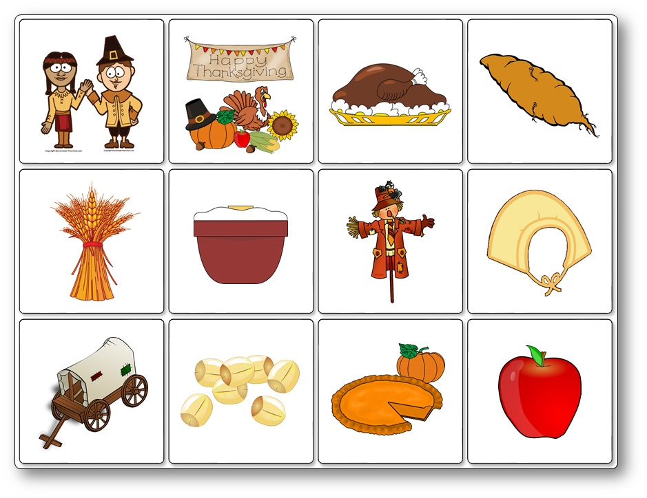 photo about Thanksgiving Closed Sign Printable known as Thanksgiving Matching Video game - Free of charge Printable - Communicate and Participate in