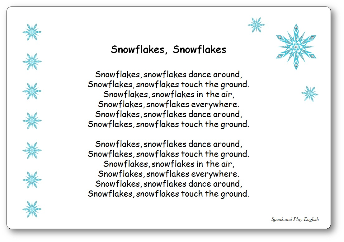 Snowflakes Snowflakes Dance Around Lyrics the Kiboomers, Snowflakes Snowflakes dance around Lyrics