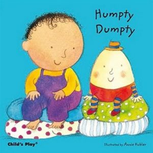 Humpty Dumpty Board Book illustrated by Annie Kubler