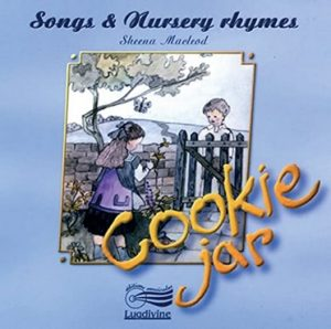 Songs and Nursery Rhymes Cookie Jar by Sheena Macleod