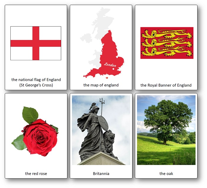 British Culture Images Printable Vocabulary