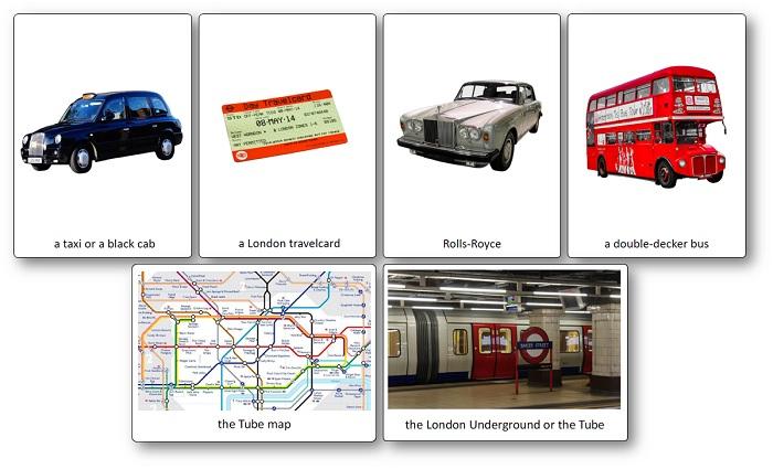 images of famous United-Kingdom transportation