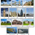Pictures of Famous Buildings and Places in London and England