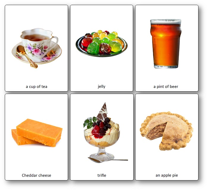 traditional British food images