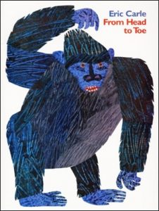 From Head to Toe Eric Carle book