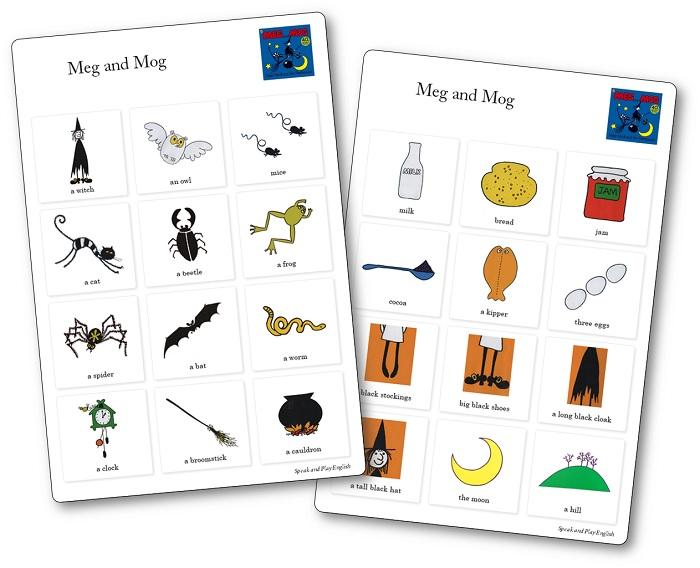 Meg and Mog Printable Images
