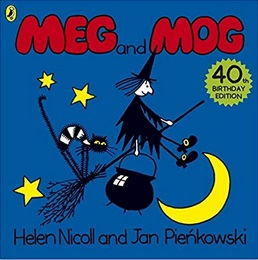 Meg and Mog by Helen Nicoll and Jan Pieńkowski. children halloween books