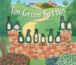Ten Green Bottles, An interactive counting book illustrated by Tamsin Hinrichsen