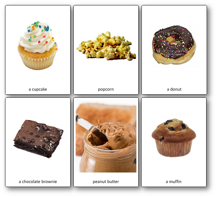 Food of the United States Picture Cards
