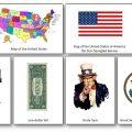 American Symbols Landmarks Cards
