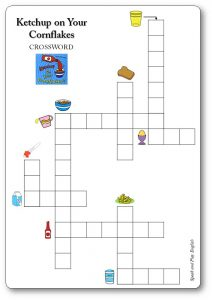 Ketchup on Your Cornflakes Food Crossword