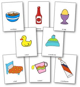 Ketchup on Your Cornflakes Images Picture Cards