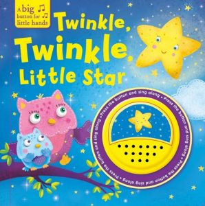Nursery Rhyme Twinkle Twinkle Little Star book