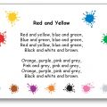 Red and Yellow, Blue and Green Colour Song