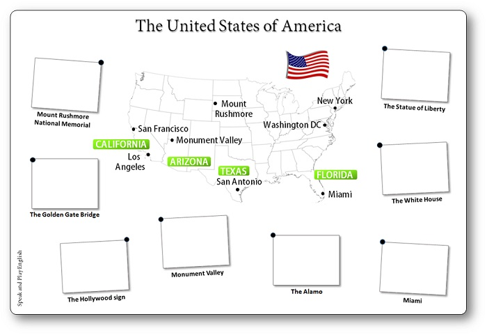 children's map of the united states of america, free printable map of the united states of america