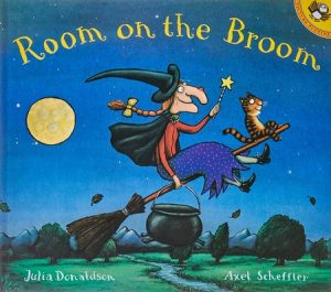 Room on the Broom by Julia Donaldson, A witch story for Halloween