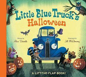 Little Blue Truck's Halloween by Alice Schertle - A Lift the Flap Book
