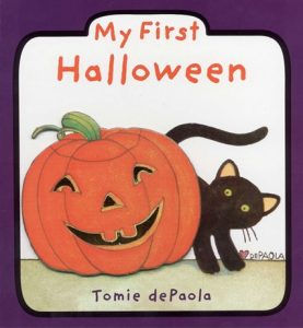 My First Halloween by Tomie dePaola - A Halloween Toddlers Book