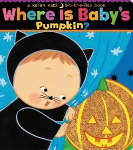 Where is Baby's Pumpkin by Karen Katz - Halloween Children Book