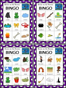 Room on the Broom Bingo Game Free to print