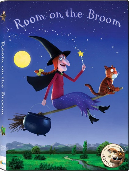 Room on the Broom DVD by Julia Donaldson