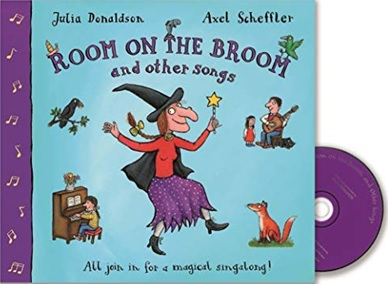 Room on the Broom and other songs by Julia Donaldson