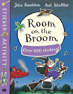 Room on the Broom more than 400 stickers by Julia Donaldson
