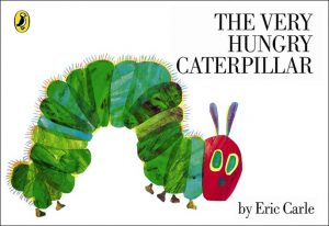 The Very Hungry Caterpillar written by Eric Carle