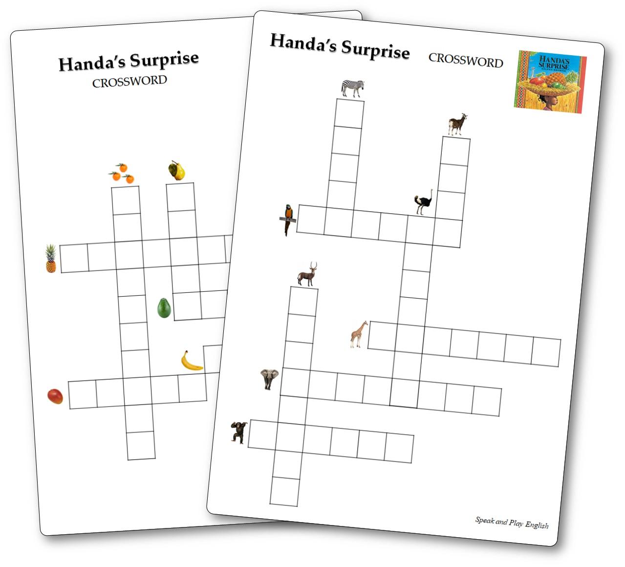 Vocabulary Crosswords Handa's Surprise, Handa's Surprise Free Download