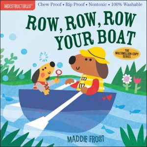 Row Row Row Your Boat book by Maddie Frost