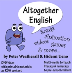 DVD Altogether English by Peter Weatherall