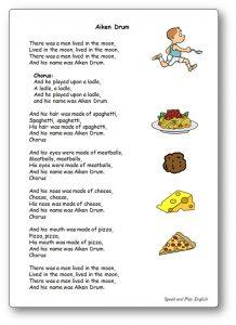 Children Song Aiken Drum Lyrics