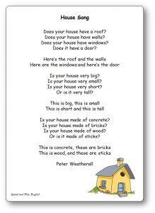 House Song Peter Weatherall Nursery Rhyme