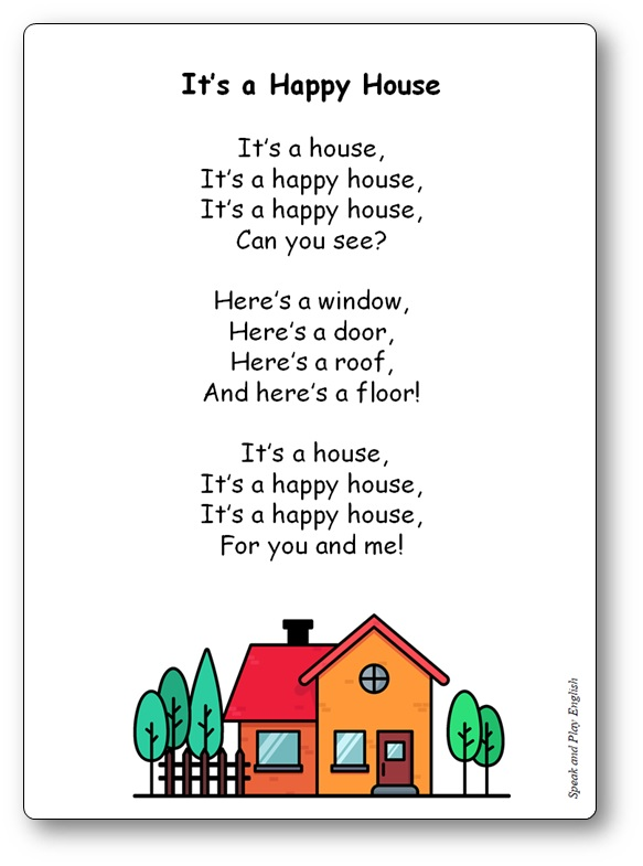 It's a Happy House Song Lyrics