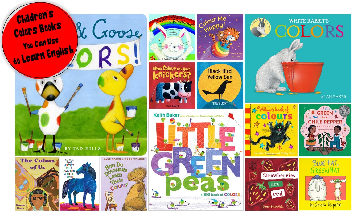 Children's Colors Books You Can Use to Learn English, colors book teach english, children colors book