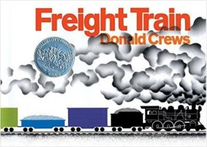 Freight Train by Donald Crews Color Book for Children