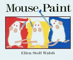Mouse Paint by Ellen Stoll Walsh Colours Book for kids