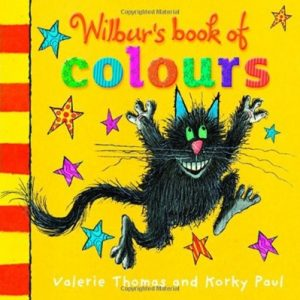 Wilbur's Book of Colours by Valerie Thomas and Korky Paul for toddlers